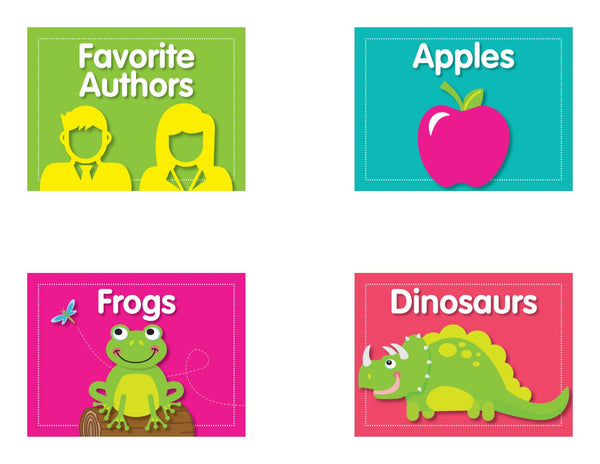 Just Teach Simply Stylish Tropical - Classroom Library Labels {U PRINT}