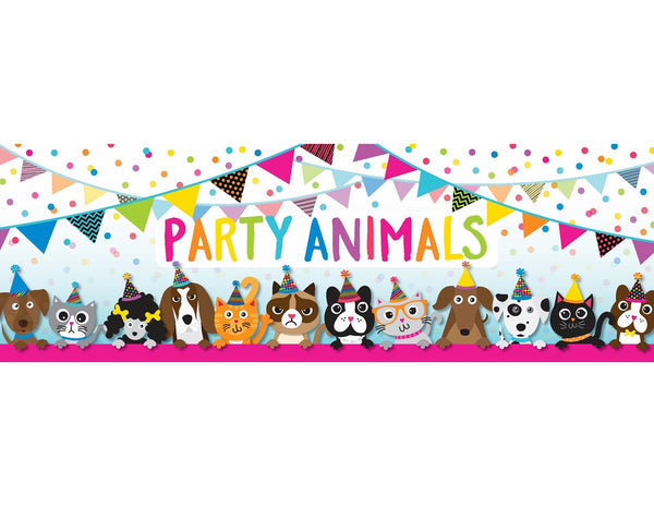 Just Teach NEON - PARTY ANIMALS {UPRINT}