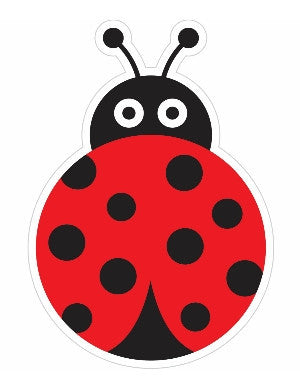 Lovely Ladybugs Large Cut Out