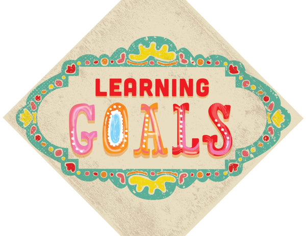 Under the Boardwalk - Learning Goals Chart {UPRINT}