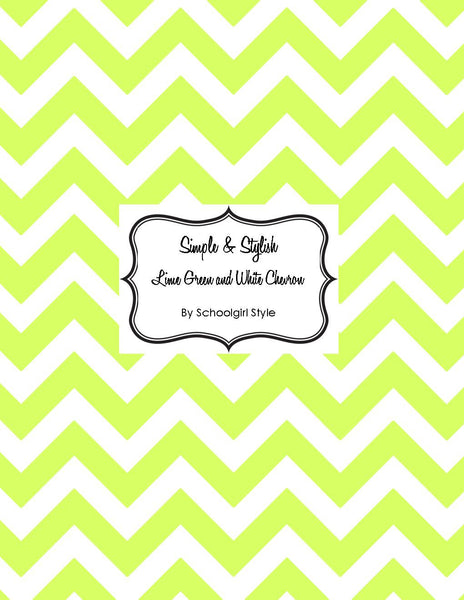 Chevron Chic - Lime Green