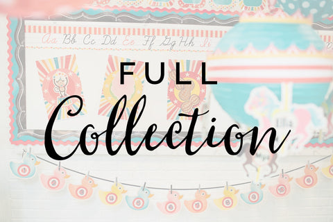 """Vintage Circus"" Full Collection {UPRINT}"