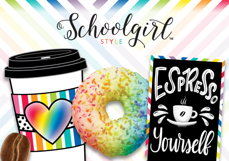 Schoolgirl Style - Bright and Brew-tiful Full Collection {U PRINT}