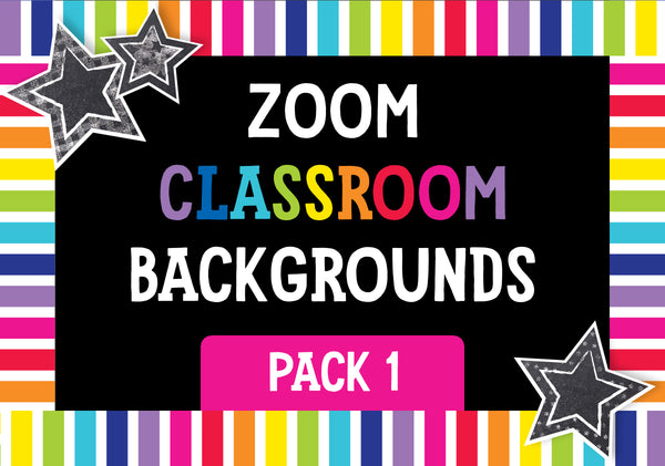 ZOOM Classroom Digital Backgrounds Pack 01