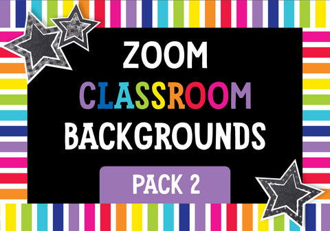 ZOOM Classroom Digital Backgrounds Pack 02