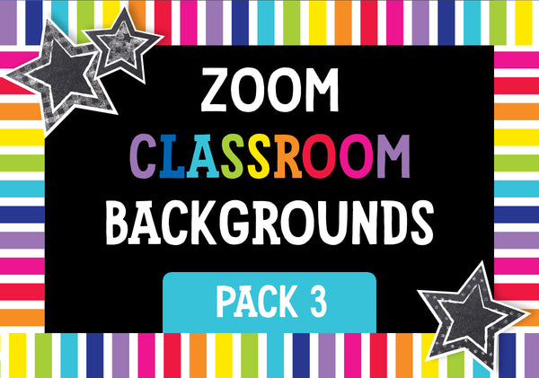 ZOOM Classroom Digital Backgrounds Pack 03