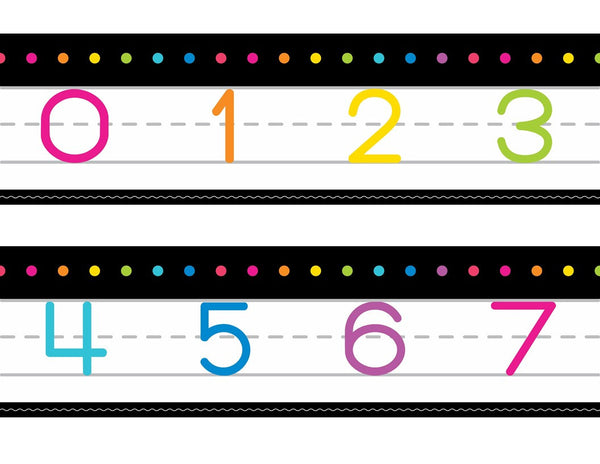 Neon Pop - Number Line 0-120 {UPRINT}