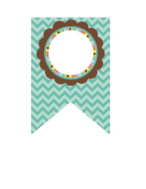Bright Chevron Banner