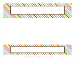 Bright Binder Spines {UPRINT}