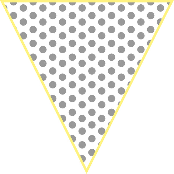 Hello! Sunshine Mini Pennants