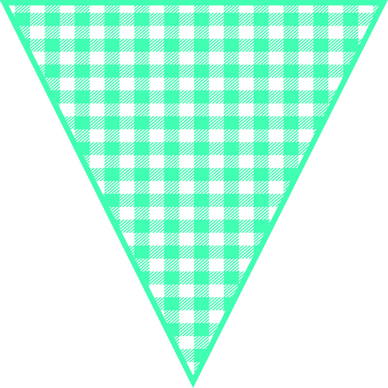 Hello! Sunshine Large Pennant Banner {UPRINT}