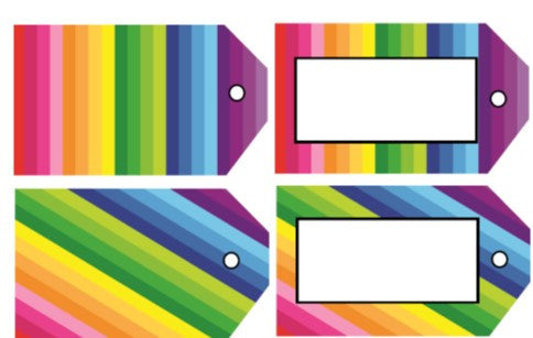 Happy Rainbow Locker/Luggage Tags