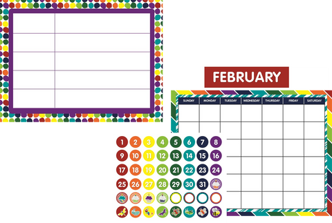 Bugs Calendar Set & Common Core Chart