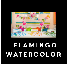 Flamingo Watercolor - Full Collection