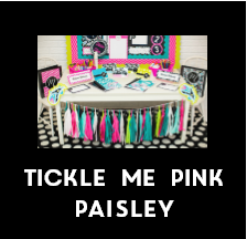 Tickle Me Pink Paisley - Full Collection {UPRINT}