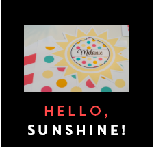 Hello, Sunshine Coral! - Full Collection {UPRINT}