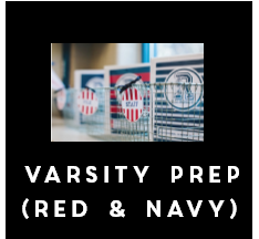 Varsity Prep - Full Collection (Red & Navy)