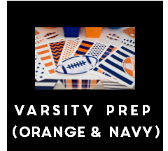 Varsity Prep - Full Collection (Orange & Navy) {UPRINT}