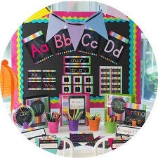 Rainbow Chalkboard - Full Collection {UPRINT}