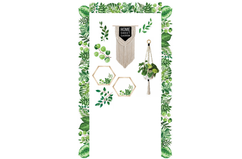 Simply Boho Door Decor