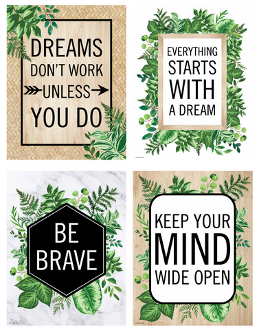 Simply Boho Mini Poster Set