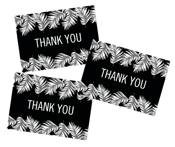 Schoolgirl Style - Simply Boho Thank You Note Cards