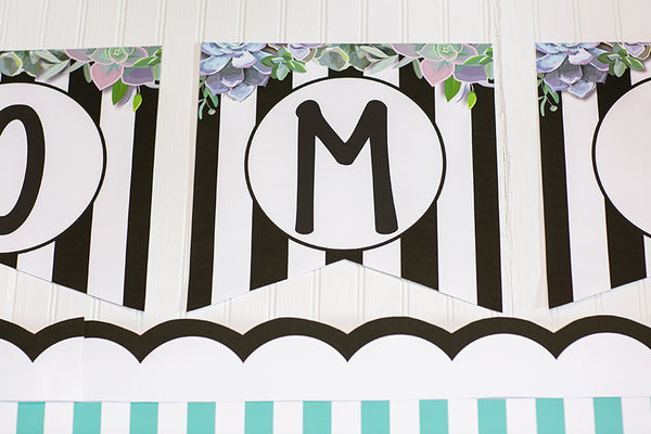 Simply Stylish Welcome Banner