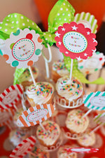 Carnival Scalloped Tags