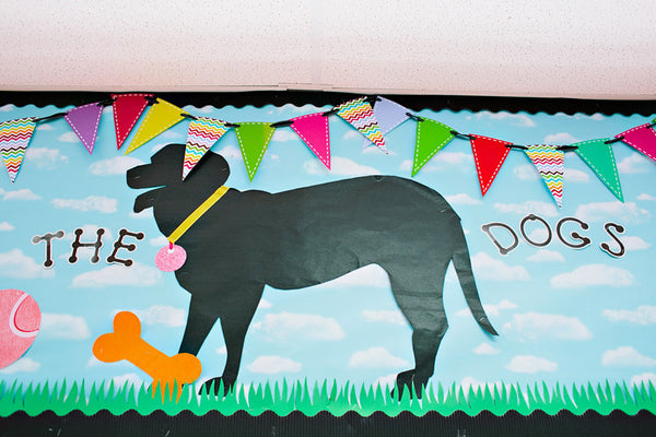 Dog Dayz Mini Pennant Banner {UPRINT}