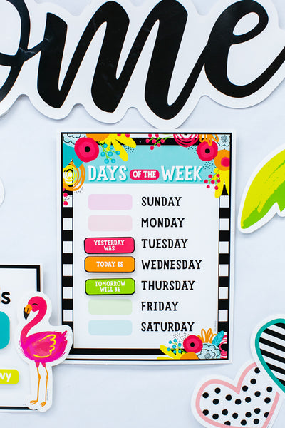 Simply Stylish Tropical Calendar Set {U PRINT}