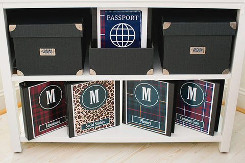World Traveler Binder Covers