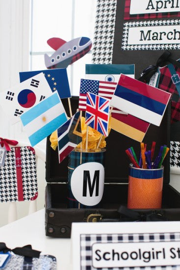 Mini Country Flag Cut Outs