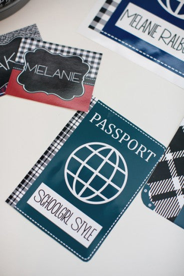 Passport Cut Outs