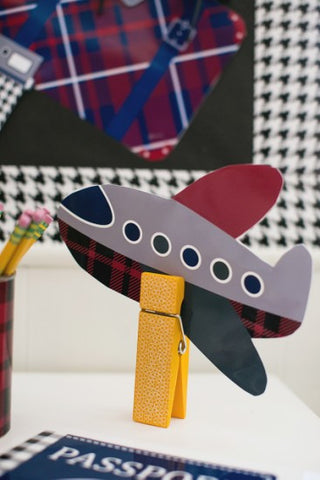 Airplane Cut Outs {UPRINT}