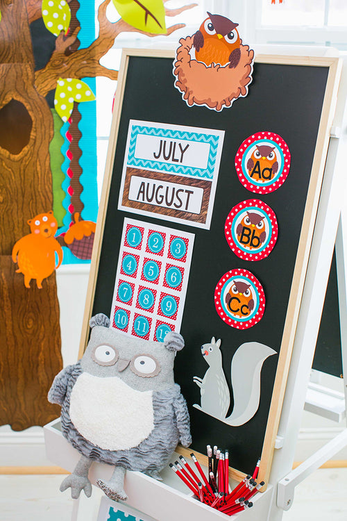 Woodland Animals Word Wall {UPRINT}