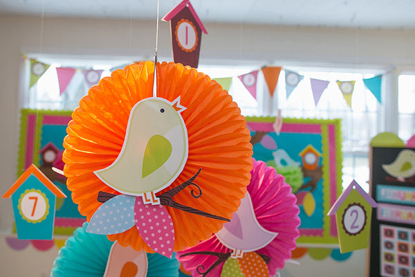 Bright Birds Cut Outs and Branches