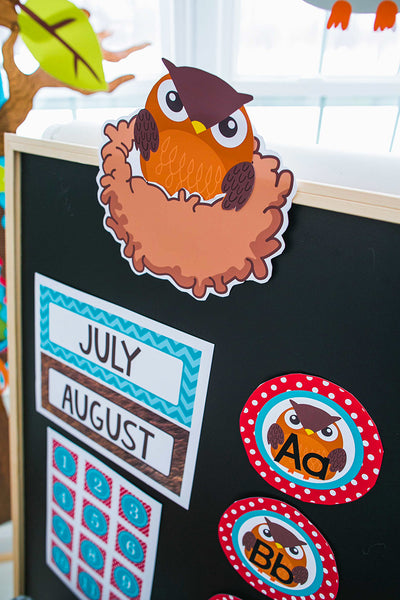 Woodland Animals Word Wall