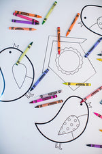 Color My Classroom Birds {UPRINT}