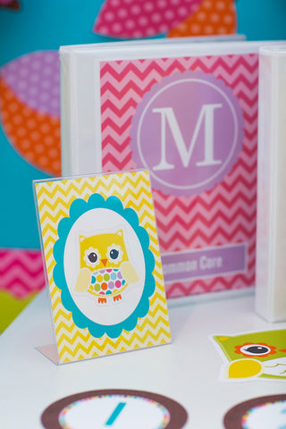 Bright Binder Covers {UPRINT}
