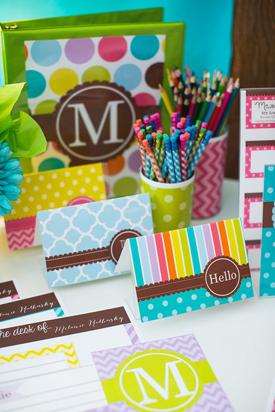 Bright Stationary Set