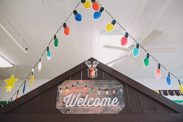 Happy Camper - Welcome Sign