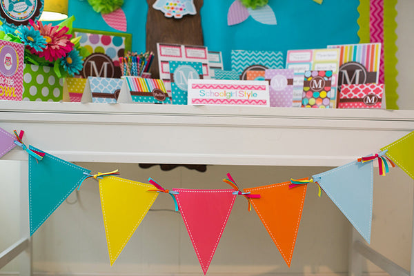 Bright Traditional Pennants