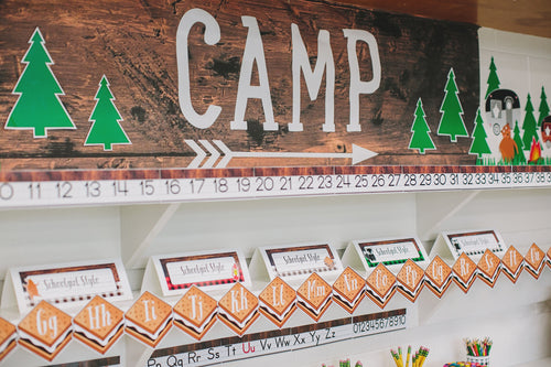 Happy Camper - Word Wall S'Mores {UPRINT}