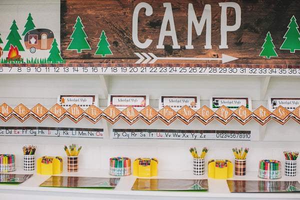 Happy Camper - Word Wall S'Mores