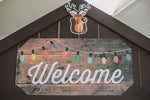 Happy Camper - Welcome Sign {UPRINT}