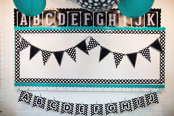 Chalkboard & Polka Dots - Full Collection