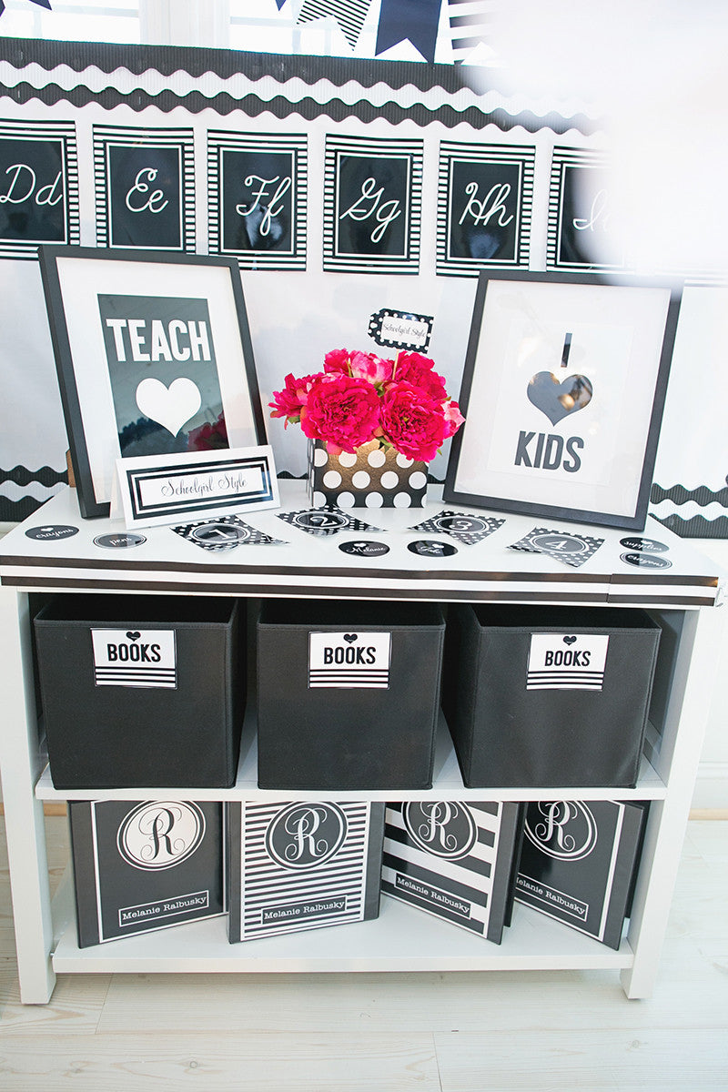 I HEART SCHOOL - Full Collection {UPRINT}