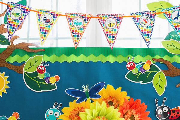 Bugs Pennants {UPRINT}