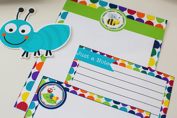 Bugs Stationary Set