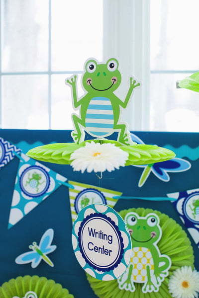 Frog Table/Center Signs